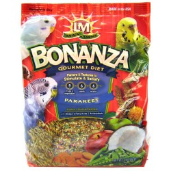 LM Animal Farms Bonanza Gourmet Diet - Parakeet Food Image