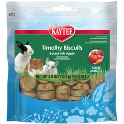 Kaytee Timothy Biscuit Treat Baked with Apple For Dental Health Support  Image