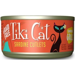 Tiki Cat Sardine Cutlets Cat Food Image