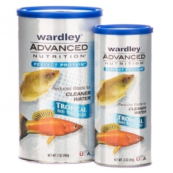 Wardley Advanced Nutrition Perfect Protein Tropical Fish Flake Food Image