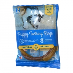 N-Bone Puppy Teething Ring - Pumpkin Image
