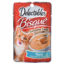 Hartz Delectables Bisque Lickable Treat for Cats - Tuna Image