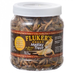 Flukers Medley Treat for Bearded Dragons Image