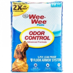 Four Paws Wee Wee Pads - Odor Control Image