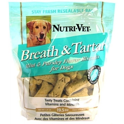 Breath & Tartar Mint & Parsley Flavor Biscuits Image
