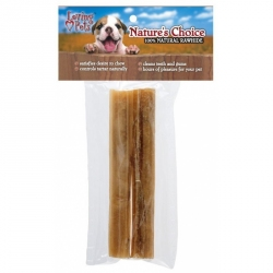 Loving Pets Nature's Choice 100% Natural Rawhide Pressed Sticks Image
