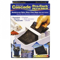 Cascade Pro-Carb Filt-A-Pack Nylon Mesh Filter Bags with Carbon Image
