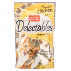 Hartz Delectables Gourmet Cat Treats - Roasted Chicken Flavor Image