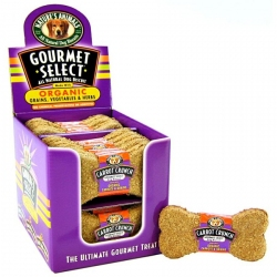 Natures Animals Gourmet Select All Natural Dog Biscuit - Made With Organic Grains, Vegetables & Herbs - Carrot Crunch Image