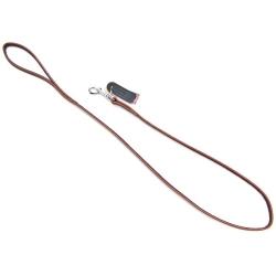 Circle T Latigo Leather Lead - 4' Image