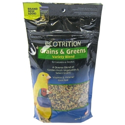 Ecotrition Grains & Greens Variety Blend for Canaries & Finches Image