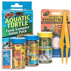 Zoo Med Aquatic Turtle Food Sample Value Pack Image