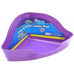 Kaytee Hi Corner Litter Pan - Assorted Colors Image