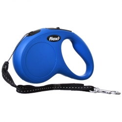 Flexi New Classic Retractable Cord Leash - Blue Image