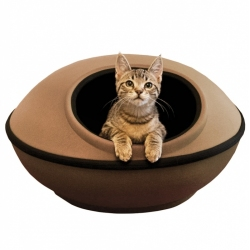 K&H Mod Dream Pod Cat Bed - Tan Image