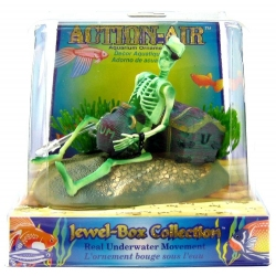 Penn Plax Action-Air Jewel Box Skeleton Aerating Aquarium Ornament Image
