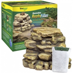 Tetrafauna Decorative ReptoFilter for Frogs, Newts & Turtles Image