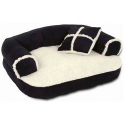 Aspen Pet Sofa Bed with Bonus Pillow Image