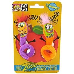 Springy Worm Catnip Toy Image