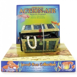 Penn Plax Action-Air Treasure Chest Image