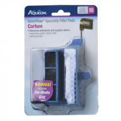 Aqueon QuietFlow Specialty Filter Pads - Carbon Image