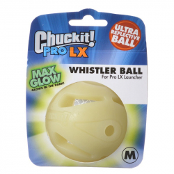 Chuckit Pro LX Max Glow Whistler Ball Image
