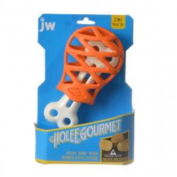 JW Pet Holee Gourmet Turkey Leg Dog Toy Image