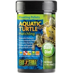 Exo Terra Floating Pellets Aquatic Turtle Hatchling Food Image