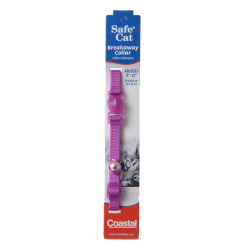 Coastal Pet Safe Cat Adjustable Nylon Breakaway Collar - Orchid Image
