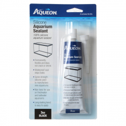 Aqueon Silicone Aquarium Sealant - Black Image