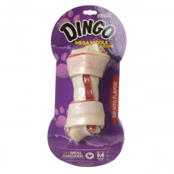 Dingo Double Meat Rawhide & Meat Chew Bone Image