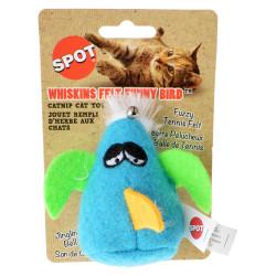 Spot Whiskins Felt Funnybird wth Catnip - Assorted Colors Image