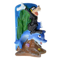 Penn Plax Goofy and Dolphin Resin Ornament Image