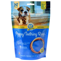 N-Bone Grain Free Puppy Teething Rings - Chicken Flavor Image