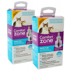 Comfort Zone Multi-Cat Calming Diffuser Refill for Cats & Kittens Image