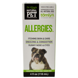 Tomlyn Natural Pet Pharmaceuticals Allergies Dog Remedy Image