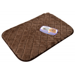Precision Pet SnooZZy Sleeper Flat Bed - Chocolate Brown Image