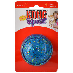 KONG Squeezz Confetti Ball Dog Toy Image