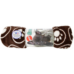 Spot Snuggler Pet Blanket - Brown Image