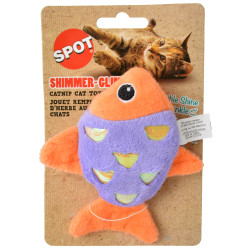 Spot Shimmer Glimmer Fish Catnip Toy Image