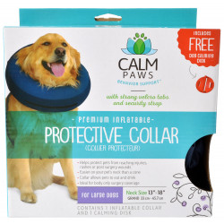 Calm Paws Premium Inflatable Protective Collar Image