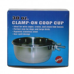 Spot Stainless Steel Coop Cup with Bolt Clamp Image