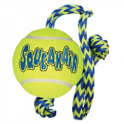 Kong Squeaker Ball with Rope Image