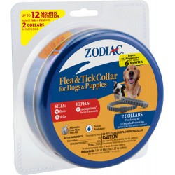 Zodiac Flea & Tick Collar for Dogs & Puppies Image