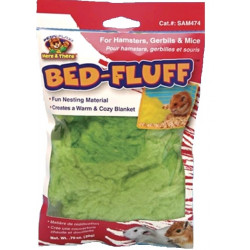 Penn Plax Bed-Fluff for Hamsters, Gerbils & Mice Image