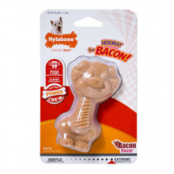 Nylabone Power Chew Pig Chew Dog Toy - Regular Image