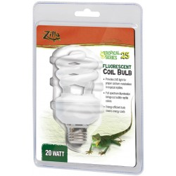 Zilla Pro Series Tropical 25 Fluorescent UVB/UVA Bulb Image