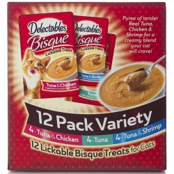 Hartz Delectables Bisque Lickable Treat for Cats - Variety Pack Image