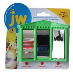 JW Insight Fun House Mirror Bird Toy Image