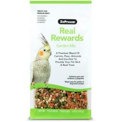 ZuPreem Real Rewards Garden Mix Treats for Medium Birds Image